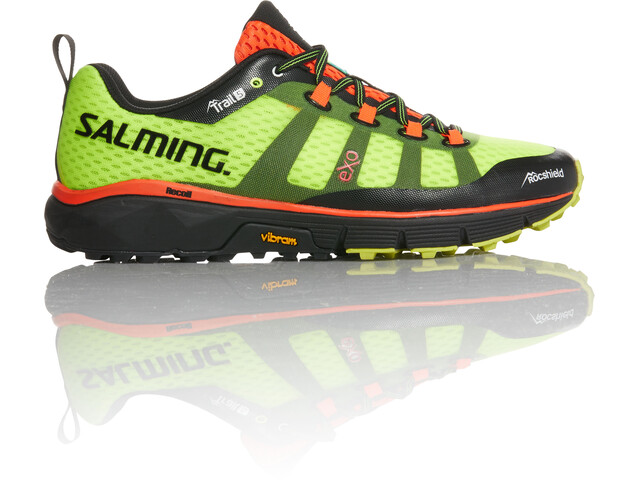 Salming M's Trail 5 Shoes Fluo Yellow